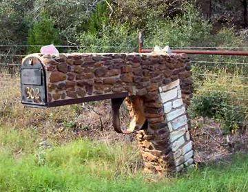 Redneck's mail box