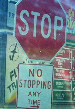 Stop or not?