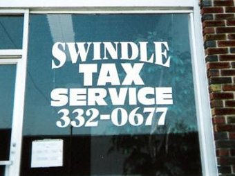 Swindle tax service