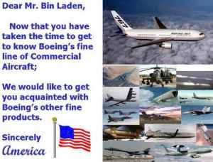 A letter for Bin Laden