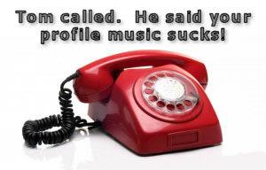 Tom called