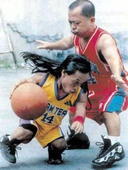 Midget's basketball