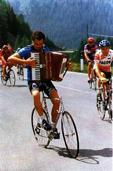 Talent musical cyclist