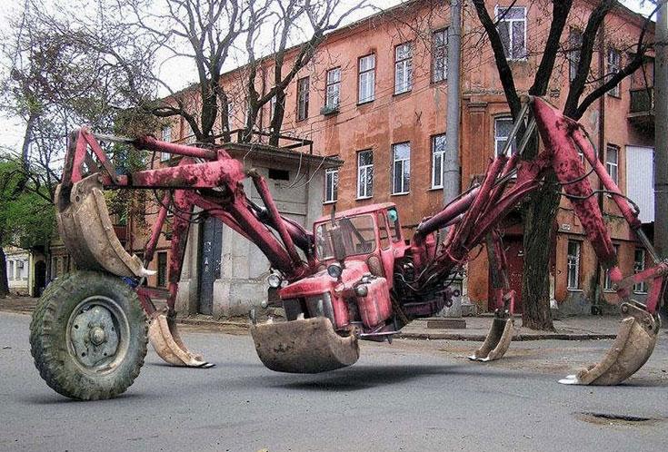 A monster crane