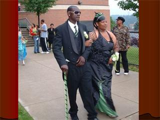 A prom in Da Hood