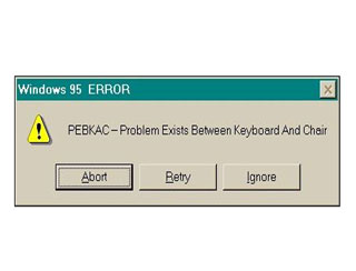 Custom error