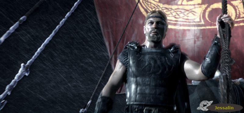 Beowulf scene 9