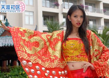 Miss World 07 - Zhang Zilin - Tradional uniform