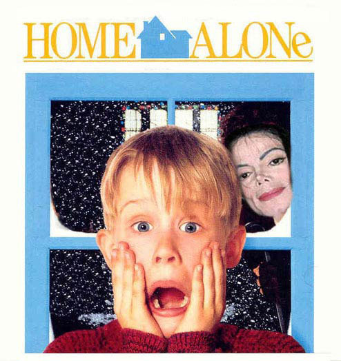 Home alone with MJ