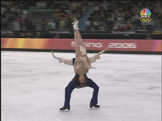 Olympic Caption Contest: Ice Dancer