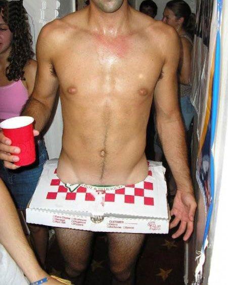 Pizza Box Costume