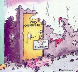 Funny photos - PMS counseling