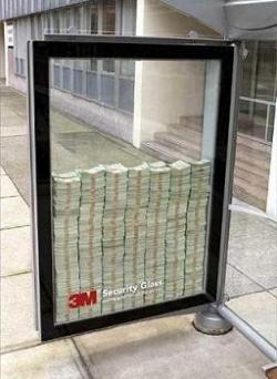 Funny photos - Sercurity glass