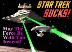 Funny photos - Star trek suck