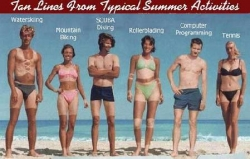 Funny photos - Tan lines