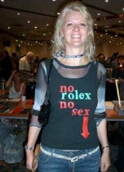 Funny photos - No rolex, no sex
