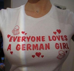 Funny photos - German girl