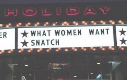 Funny photos - What women want
