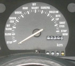 Funny photos - The car clock