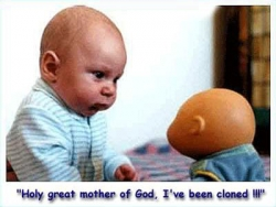 Baby pictures - I've been cloned