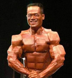 Funny photos - Cube muscles