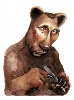 Celebrity photos - Putin's portrait