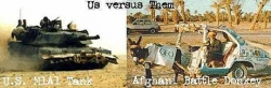 Funny photos - US versus them