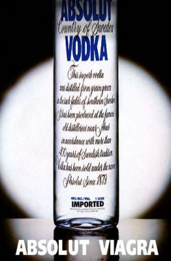Funny photos - Absolut Viagra