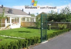 Funny photos - WindowsXP firewall