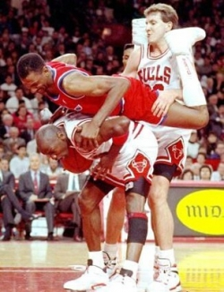 Sportsmen photo - Basketball sandwich