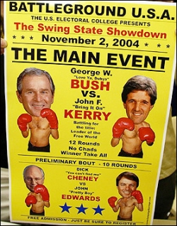 Celebrity photos - Bush vs Kelly
