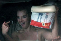 Celebrity photos - I love Mc Donald