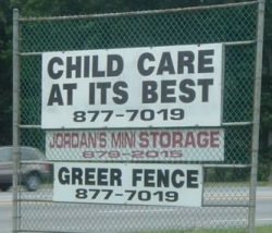 Funny photos - Child care at its best