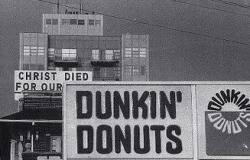 Funny photos - Dunkin donuts