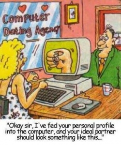 Funny photos - Computer dating aency