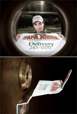 Funny photos - Cool Papa Johns ads