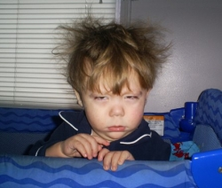 Baby pictures - Cranky early morning