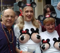 Funny photos - Disney's bra