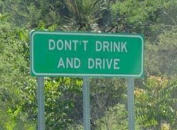 Funny photos - Dont't drink and drive