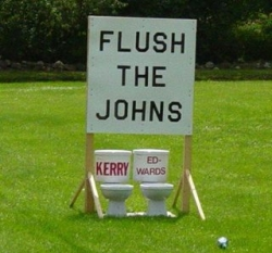 Funny photos - Flush the Johns