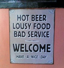 Funny photos - Honest restaurant
