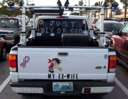Funny photos - Just divorced