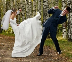 Wedding photos - Do exercise after the wedding