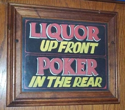 Funny photos - Liquor n poker