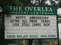 Funny photos - Dick's anniversary