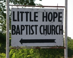 Funny photos - Little hope