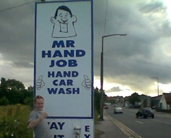 Funny photos - Mr hand job
