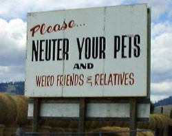 Funny photos - Plz ... neuter your pets