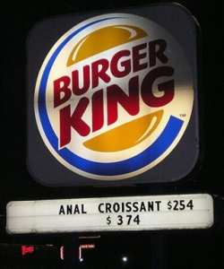Funny photos - New Burger King item