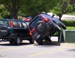 Funny photos - A nice parking job
